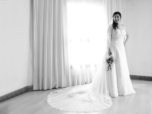La boda de Ruben y Leyre en Quejana, Álava 8