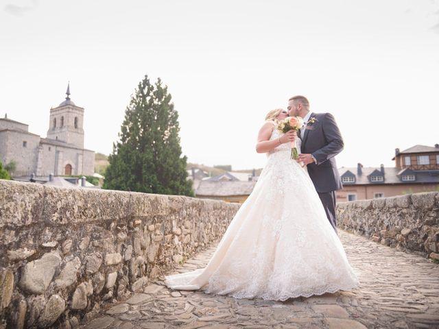 La boda de Llarena y David