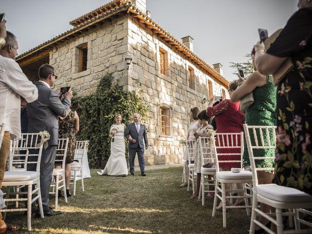 La boda de Jorge y Carmen en Galapagar, Madrid 14