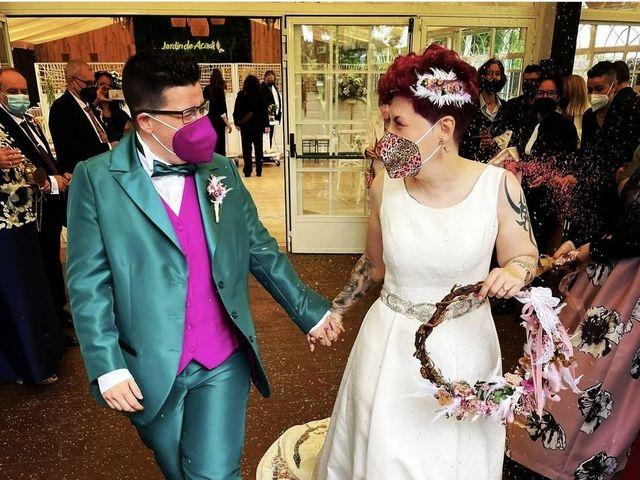 La boda de Azahara y Begoña