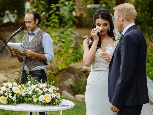 La boda de Thomas y Elena en Premia De Dalt, Barcelona 27