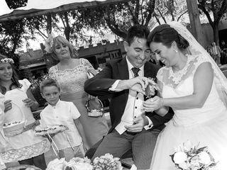 La boda de Laura y Darren