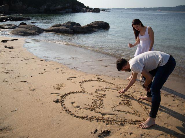 La boda de Kevin y Diana en Xubin, A Coruña 15