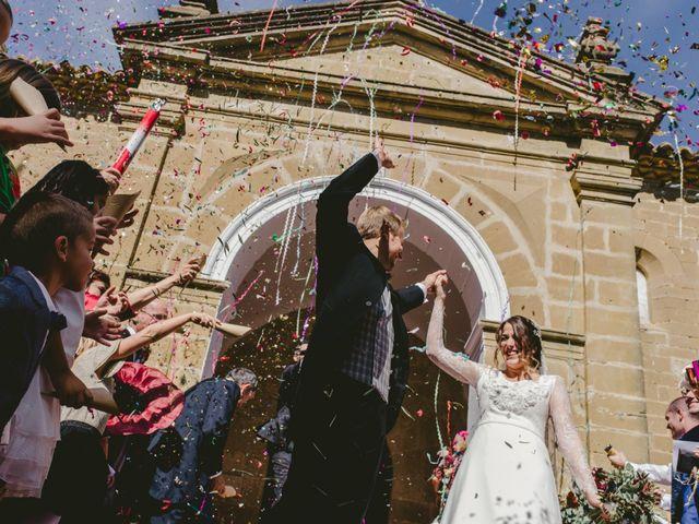 La boda de Félix y Ana en Ayerbe, Huesca 37