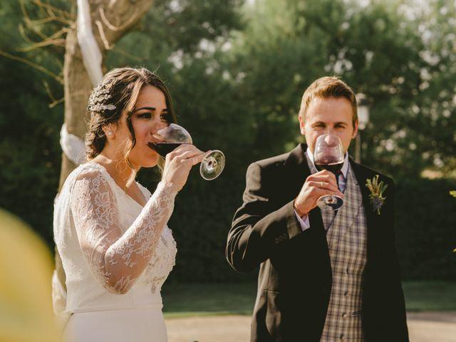 La boda de Félix y Ana en Ayerbe, Huesca 45