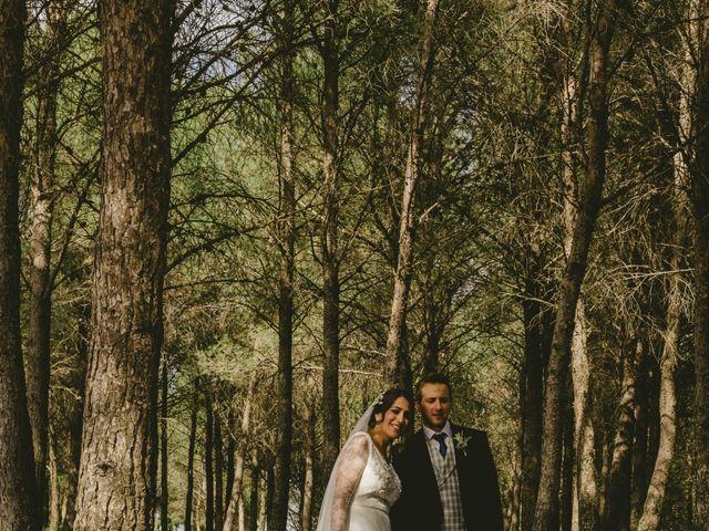 La boda de Félix y Ana en Ayerbe, Huesca 1