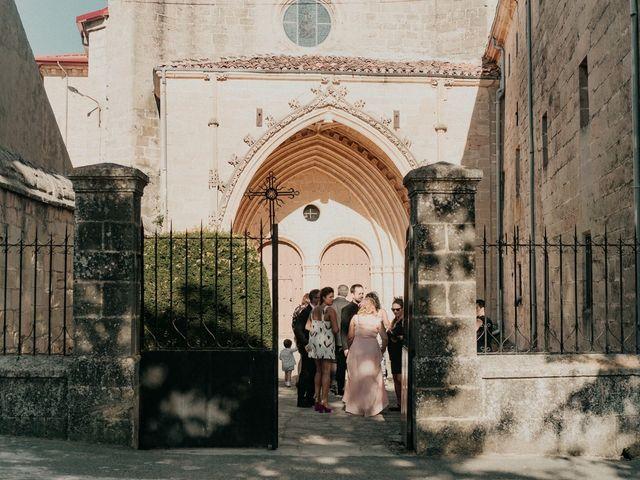 La boda de Jose y Edurne en Santa Gadea Del Cid, Burgos 41