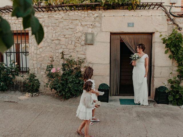 La boda de Jose y Edurne en Santa Gadea Del Cid, Burgos 45