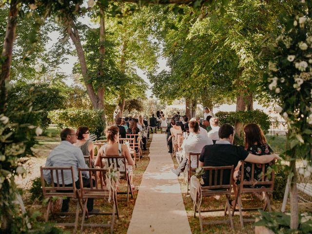 La boda de Jose y Edurne en Santa Gadea Del Cid, Burgos 63