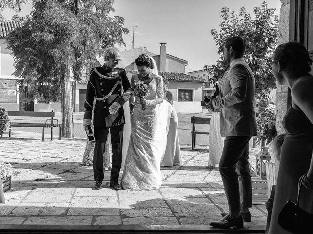 La boda de Rocio y Juan en Valoria La Buena, Valladolid 37