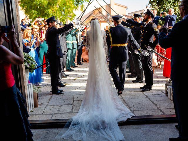 La boda de Rocio y Juan en Valoria La Buena, Valladolid 52
