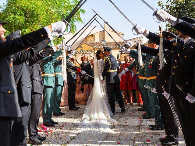 La boda de Rocio y Juan en Valoria La Buena, Valladolid 53