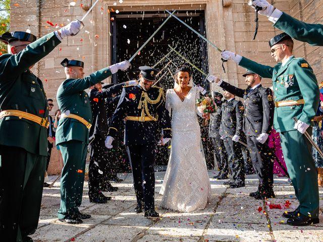 La boda de Rocio y Juan en Valoria La Buena, Valladolid 55