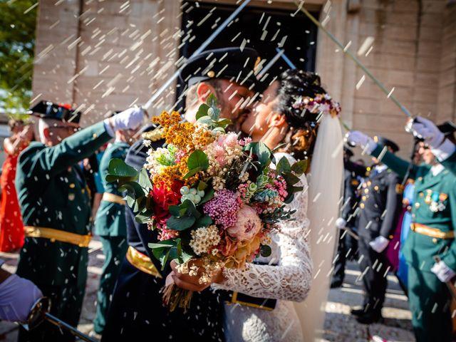 La boda de Rocio y Juan en Valoria La Buena, Valladolid 56
