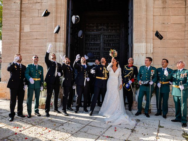 La boda de Rocio y Juan en Valoria La Buena, Valladolid 57