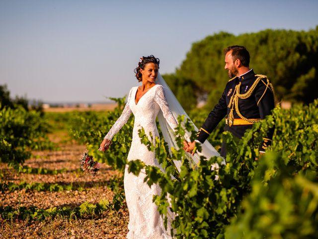 La boda de Rocio y Juan en Valoria La Buena, Valladolid 66