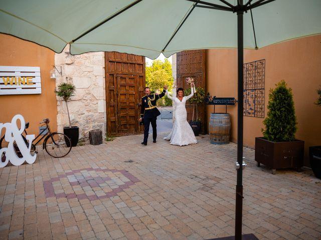 La boda de Rocio y Juan en Valoria La Buena, Valladolid 80