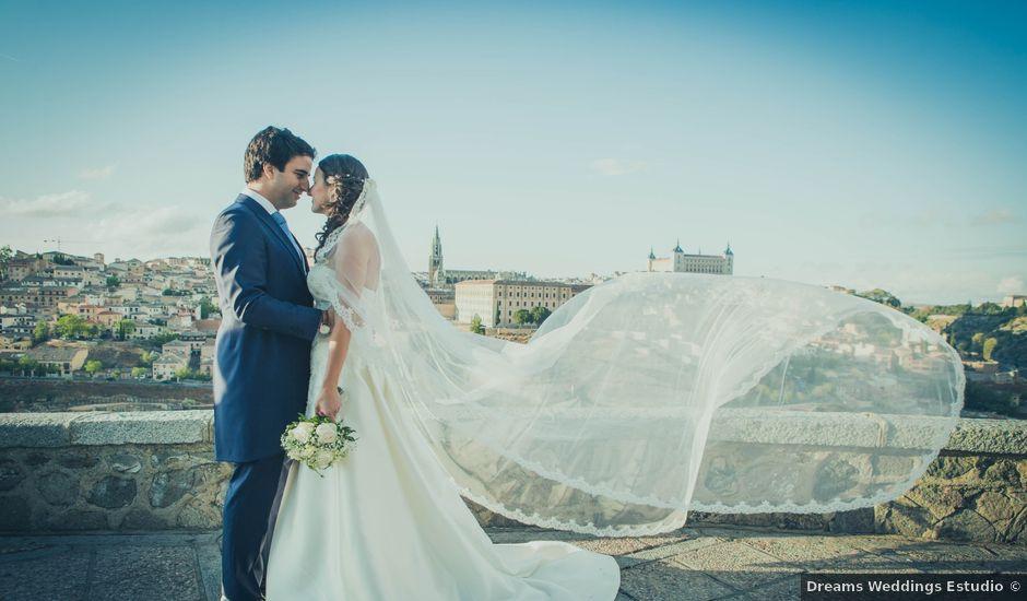La boda de Francisco y Cristina en Toledo, Toledo