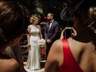 La boda de Aurora y David