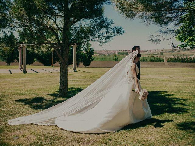 La boda de Santiago y Patricia en Tornadizos De Avila, Ávila 21