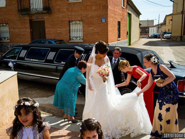 La boda de Jorge y Belén en Villar De Fallaves, Zamora 3