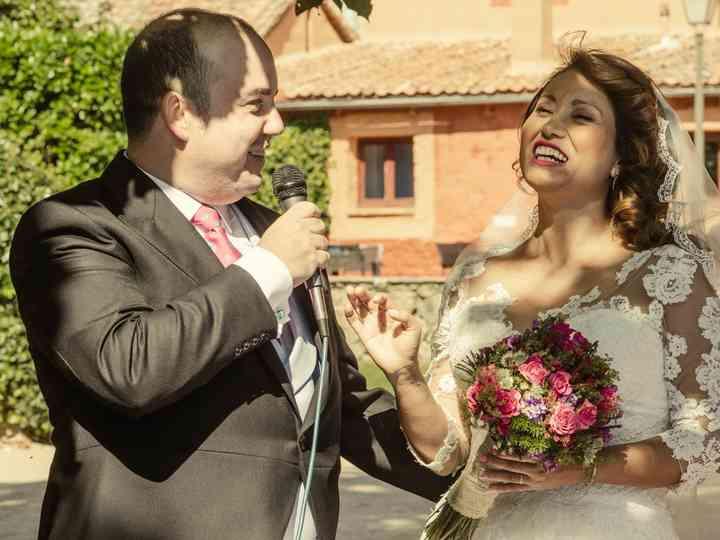 La boda de Cindy y Ruben