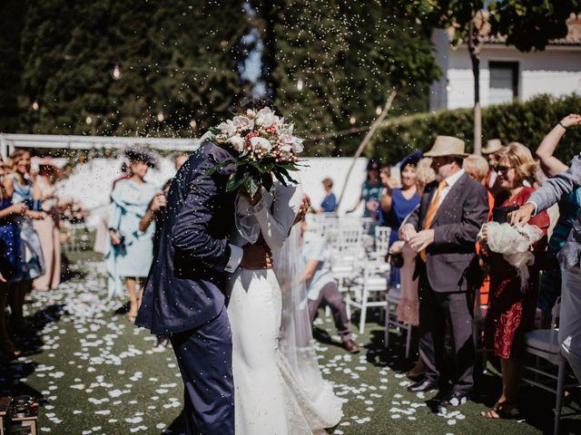 La boda de René y Estefanía en Granada, Granada 42