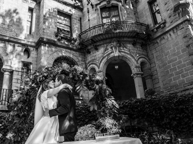La boda de Mike y Andrea en Las Arenas, Vizcaya 40