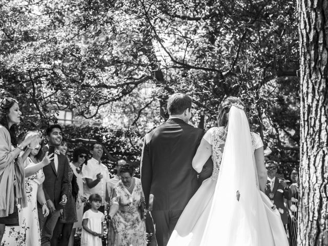 La boda de Mike y Andrea en Las Arenas, Vizcaya 41