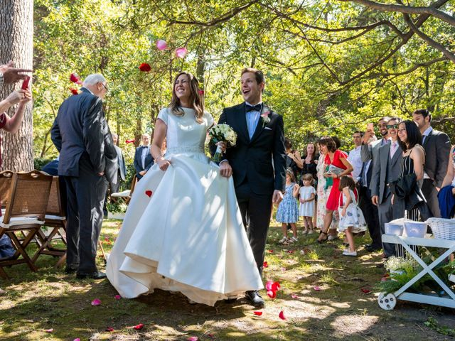 La boda de Mike y Andrea en Las Arenas, Vizcaya 42