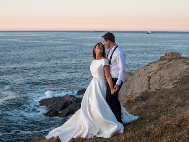 La boda de Mike y Andrea en Las Arenas, Vizcaya 82