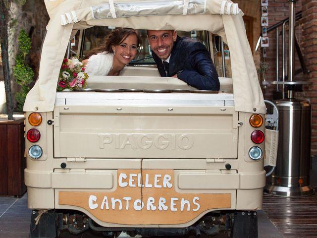La boda de Elías y Anna en Sant Fost De Campsentelles, Barcelona 64