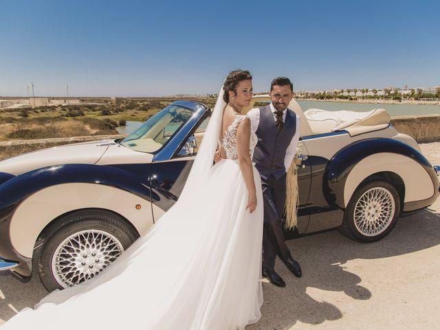 La boda de David y Vanesa en San Fernando, Cádiz 33