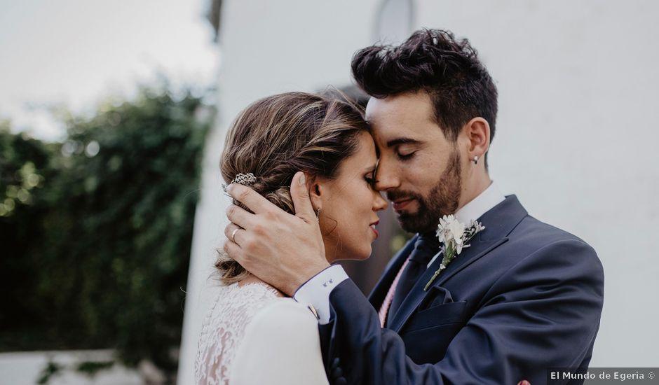 La boda de René y Estefanía en Granada, Granada