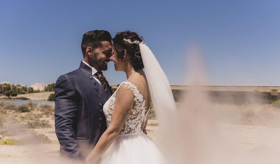 La boda de David y Vanesa en San Fernando, Cádiz