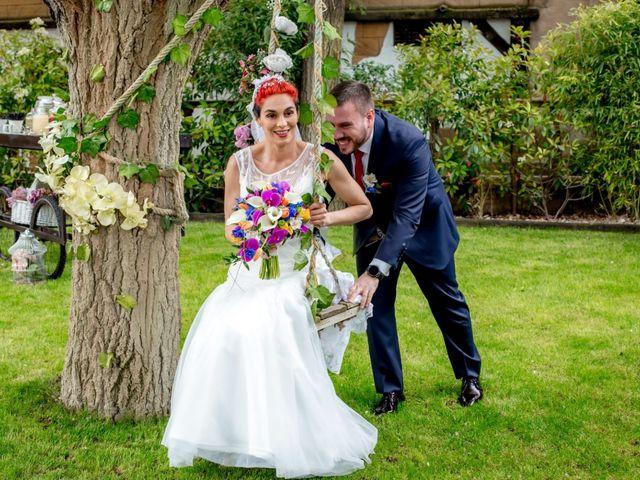 La boda de Daniel y Cristina en Alcobendas, Madrid 1
