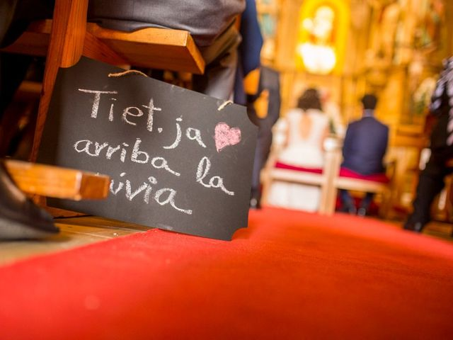 La boda de Cristian y Gemma en La Fatarella, Tarragona 45