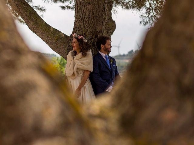 La boda de Cristian y Gemma en La Fatarella, Tarragona 60