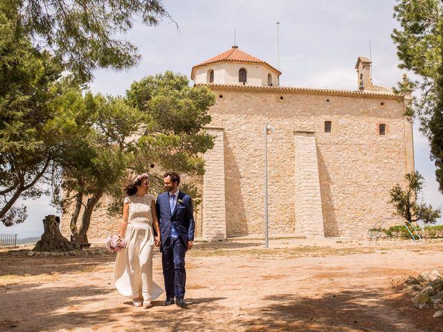 La boda de Cristian y Gemma en La Fatarella, Tarragona 62