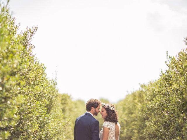 La boda de Cristian y Gemma en La Fatarella, Tarragona 73