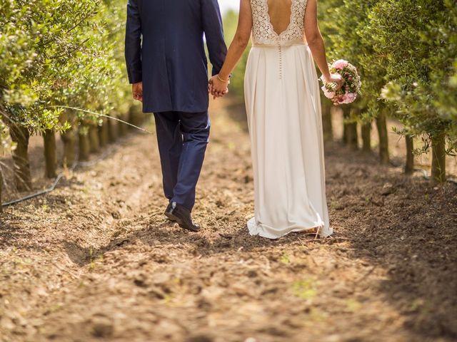 La boda de Cristian y Gemma en La Fatarella, Tarragona 74