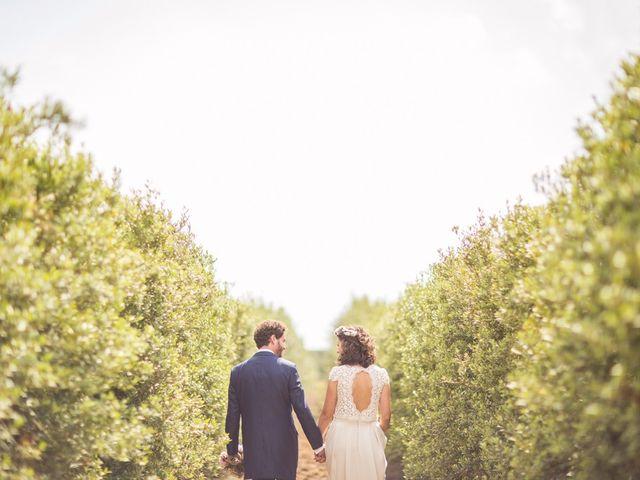 La boda de Cristian y Gemma en La Fatarella, Tarragona 75