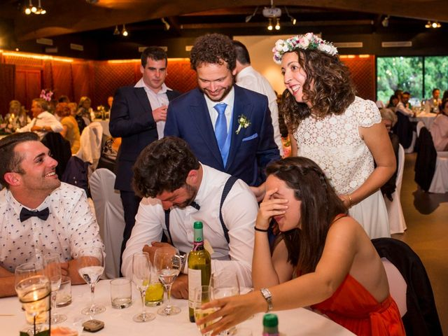 La boda de Cristian y Gemma en La Fatarella, Tarragona 99