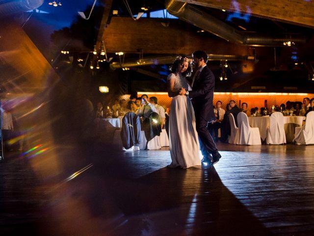 La boda de Cristian y Gemma en La Fatarella, Tarragona 106