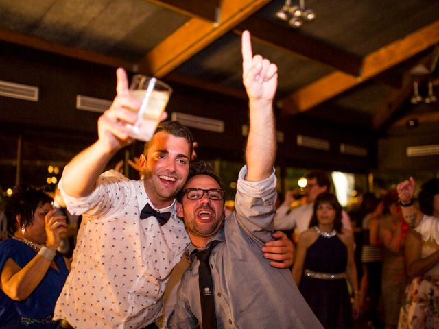 La boda de Cristian y Gemma en La Fatarella, Tarragona 121