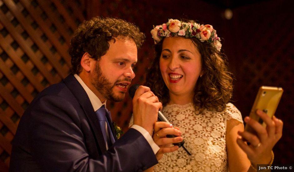 La boda de Cristian y Gemma en La Fatarella, Tarragona