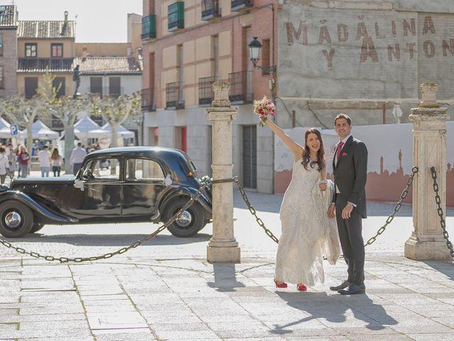 La boda de Antonio y Madalina en San Sebastian De Los Reyes, Madrid 23