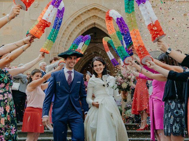 La boda de Iban y Silvia en Zeanuri, Vizcaya 31