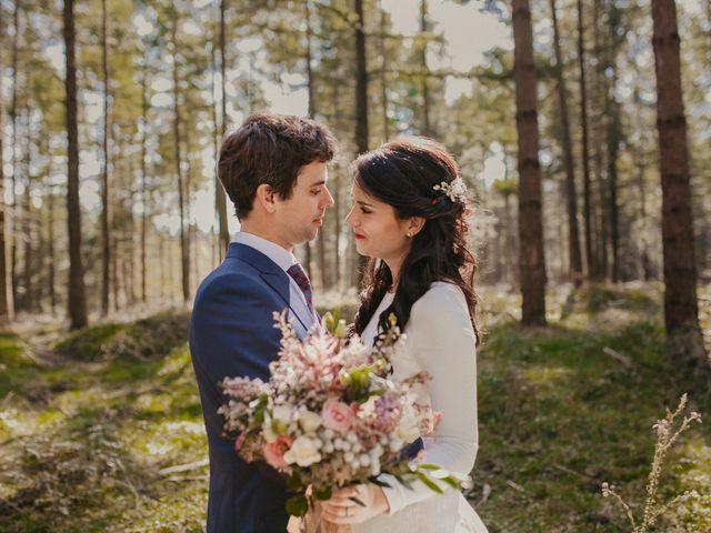 La boda de Iban y Silvia en Zeanuri, Vizcaya 41