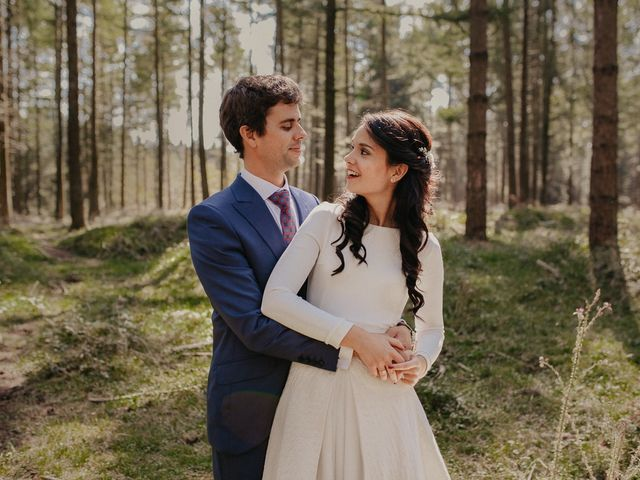 La boda de Iban y Silvia en Zeanuri, Vizcaya 44